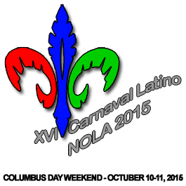XVI Carnaval Latino - New Orleans 2015