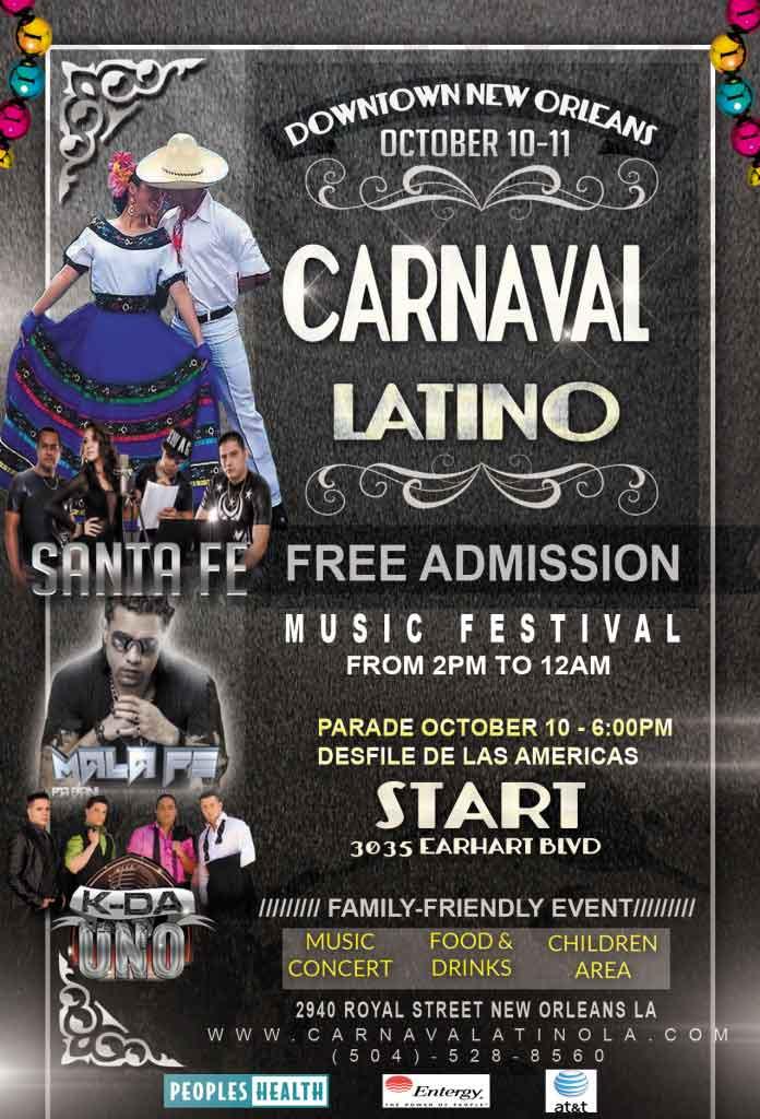 Carnaval Latino 2015 Poster