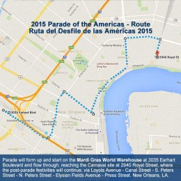 Parade of the Americas New Route for 2015