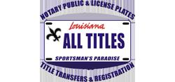 Louisiana All Titles
