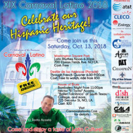 XIX Carnaval Latino Official Poster